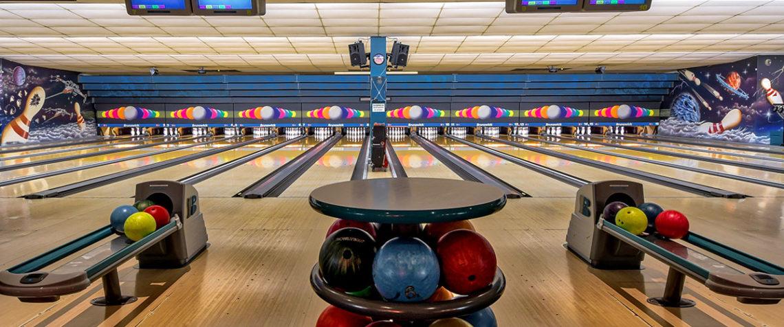 Bowlinganlage