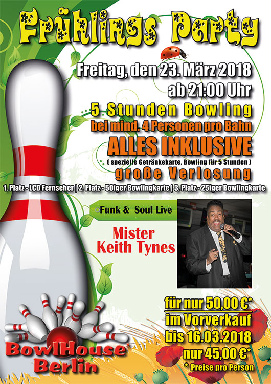 Frühlings Party 2018