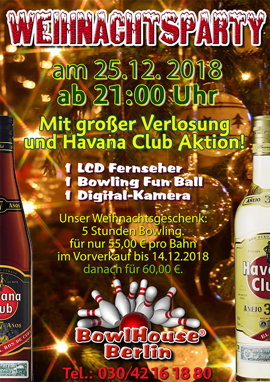Weihnachts-Party 2018
